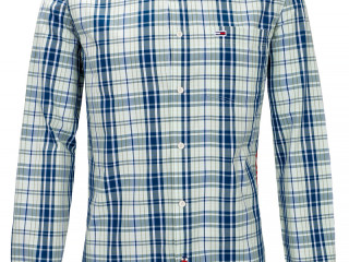 NAUJIENA! TOMMY JEANS REGULAR FIT CHECKED SHIRT