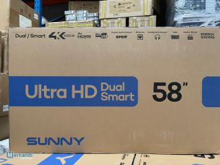 SUNNY 65/58/55/49/43/32 `SMART TV  4K ANDROID